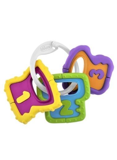 Chicco Baby Senses Anahtarlık Diş Kaşıyıcı-5953 Renkli